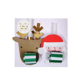 meri meri ♥ Santa and Reindeer Party Blowers(45-2965)