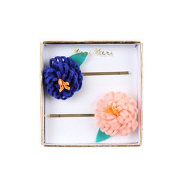 merimeri ♥ flower hair clips (50-0236)