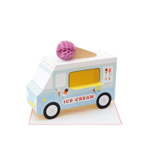 Ice Cream Van Stand-Up Card 193029