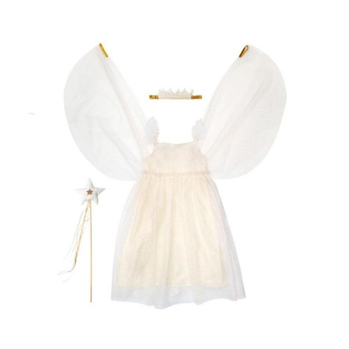 White Tulle Fairy Dress Up Kit (5-6 years) 184537